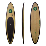 Green Revolution SUP Series 12'6 Banzai BAMBOO/WOOD Stand up Paddle Surfboard