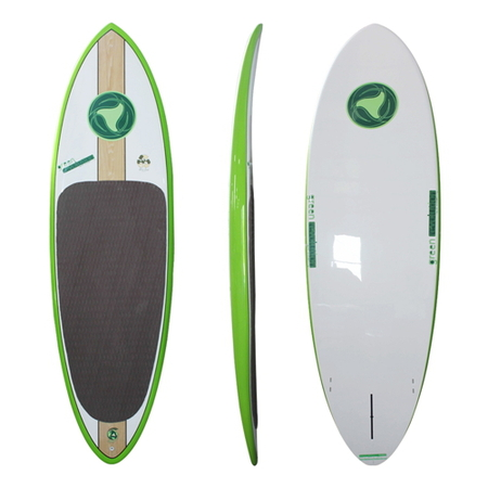 Green Revolution SUP Series 8'5 Eco Star GREEN Stand up Paddle Surfboard